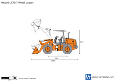 Hitachi LX70-7 Wheel Loader