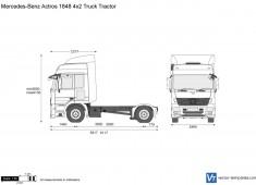 Mercedes-Benz Actros 1848 4x2 Truck Tractor