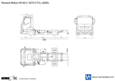 Renault Midlum M100 C 3070 CTCL
