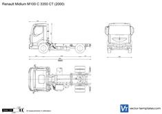Renault Midlum M100 C 3350 CT