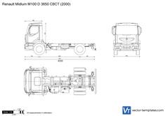 Renault Midlum M100 D 3650 CBCT