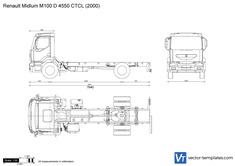 Renault Midlum M100 D 4550 CTCL