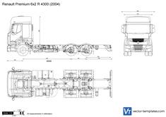 Renault Premium 6x2 R 4300