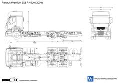 Renault Premium 6x2 R 4500