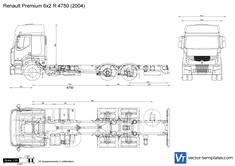 Renault Premium 6x2 R 4750