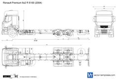 Renault Premium 6x2 R 6100