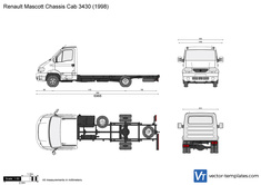 Renault Mascott Chassis Cab 3430