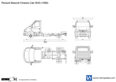 Renault Mascott Chassis Cab 3630