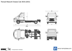 Renault Mascott Chassis Cab 3630