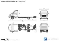 Renault Mascott Chassis Cab 4130