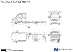 Renault Mascott Double Cab 4130