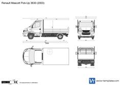 Renault Mascott Pick-Up 3630