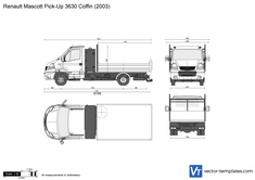 Renault Mascott Pick-Up 3630 Coffin