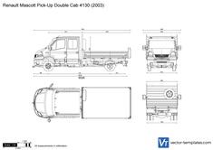 Renault Mascott Pick-Up Double Cab 4130
