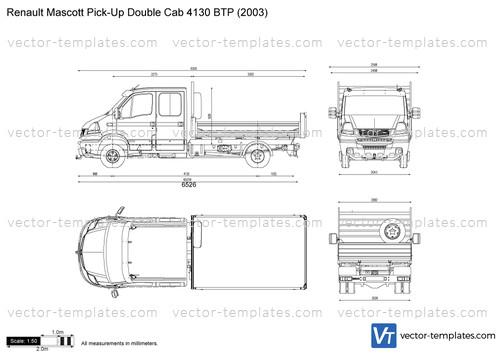 Renault Mascott Pick-Up Double Cab 4130 BTP