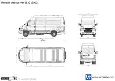 Renault Mascott Van 3630