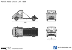 Renault Master Chassis L2H1