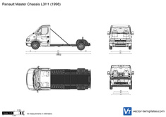 Renault Master Chassis L3H1
