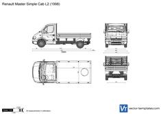 Renault Master Simple Cab L2