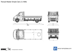 Renault Master Simple Cab L3