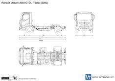 Renault Midlum 3650 CTCL Tractor