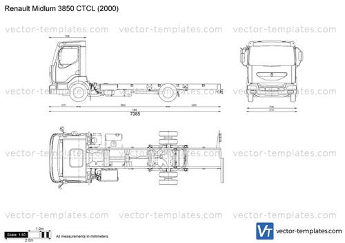Renault Midlum 3850 CTCL