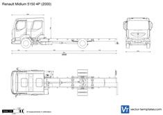 Renault Midlum 5150 4P