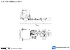 Isuzu FSR 700 850 auto