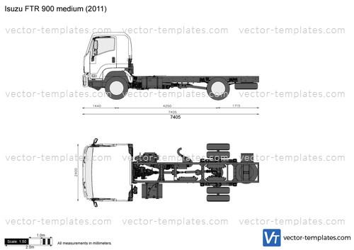 Isuzu FTR 900 medium