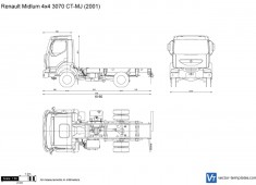 Renault Midlum 4x4 3070 CT-MJ