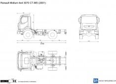 Renault Midlum 4x4 3070 CT-MS