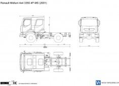 Renault Midlum 4x4 3350 4P-MS