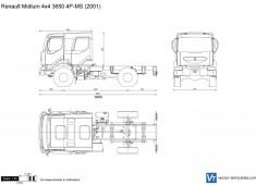 Renault Midlum 4x4 3650 4P-MS