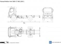 Renault Midlum 4x4 3950 CT-MS
