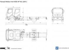 Renault Midlum 4x4 4550 4P-MJ