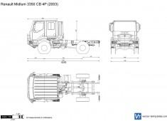 Renault Midlum 3350 CB 4P