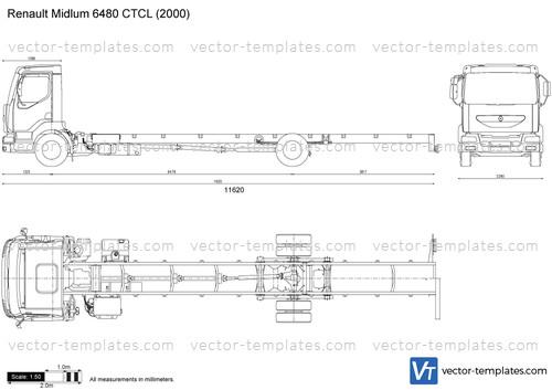 Renault Midlum 6480 CTCL