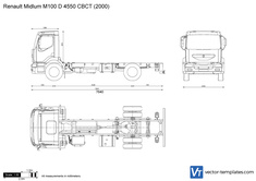 Renault Midlum M100 D 4550 CBCT