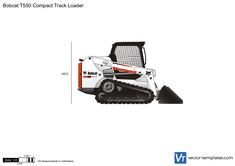 Bobcat T550 Compact Track Loader