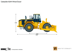 Caterpillar 824H Wheel Dozer