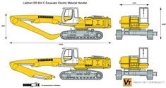 Liebherr ER 934 C Excavator Electric Material Handler