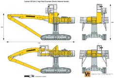 Liebherr ER 934 C High Rise Excavator Electric Material Handler