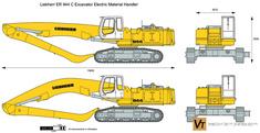 Liebherr ER 944 C Excavator Electric Material Handler