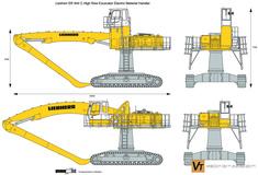 Liebherr ER 944 C High Rise Excavator Electric Material Handler