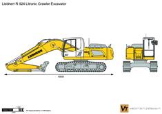 Liebherr R 924 Litronic Crawler Excavator