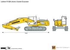Liebherr R 926 Litronic Crawler Excavator