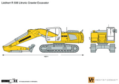 Liebherr R 936 Litronic Crawler Excavator