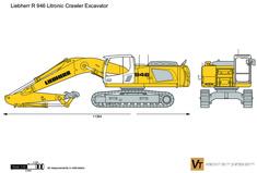 Liebherr R 946 Litronic Crawler Excavator