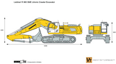 Liebherr R 960 SME Litronic Crawler Excavator