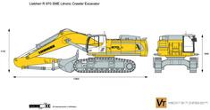 Liebherr R 970 SME Litronic Crawler Excavator